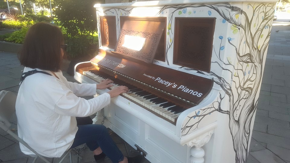 Come Play Piano in Port Coquitlam Parks