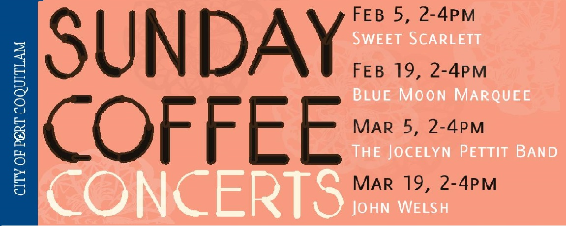 Sunday Coffee Concert Tickets on Sale
