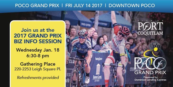 PoCo Grand Prix Biz Info Session