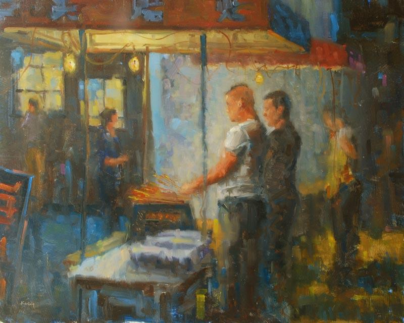 Renowned Local Artist Michael King Demo