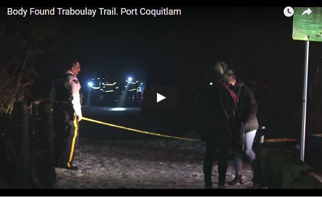 Death on PoCo Trail by Hyde Creek Centre