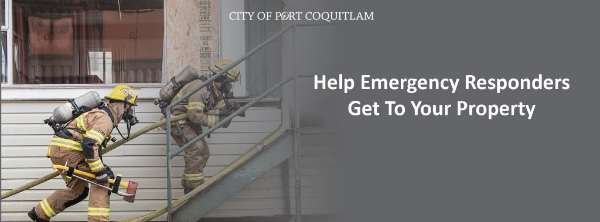 Help Emergency Responders Get to Your Property