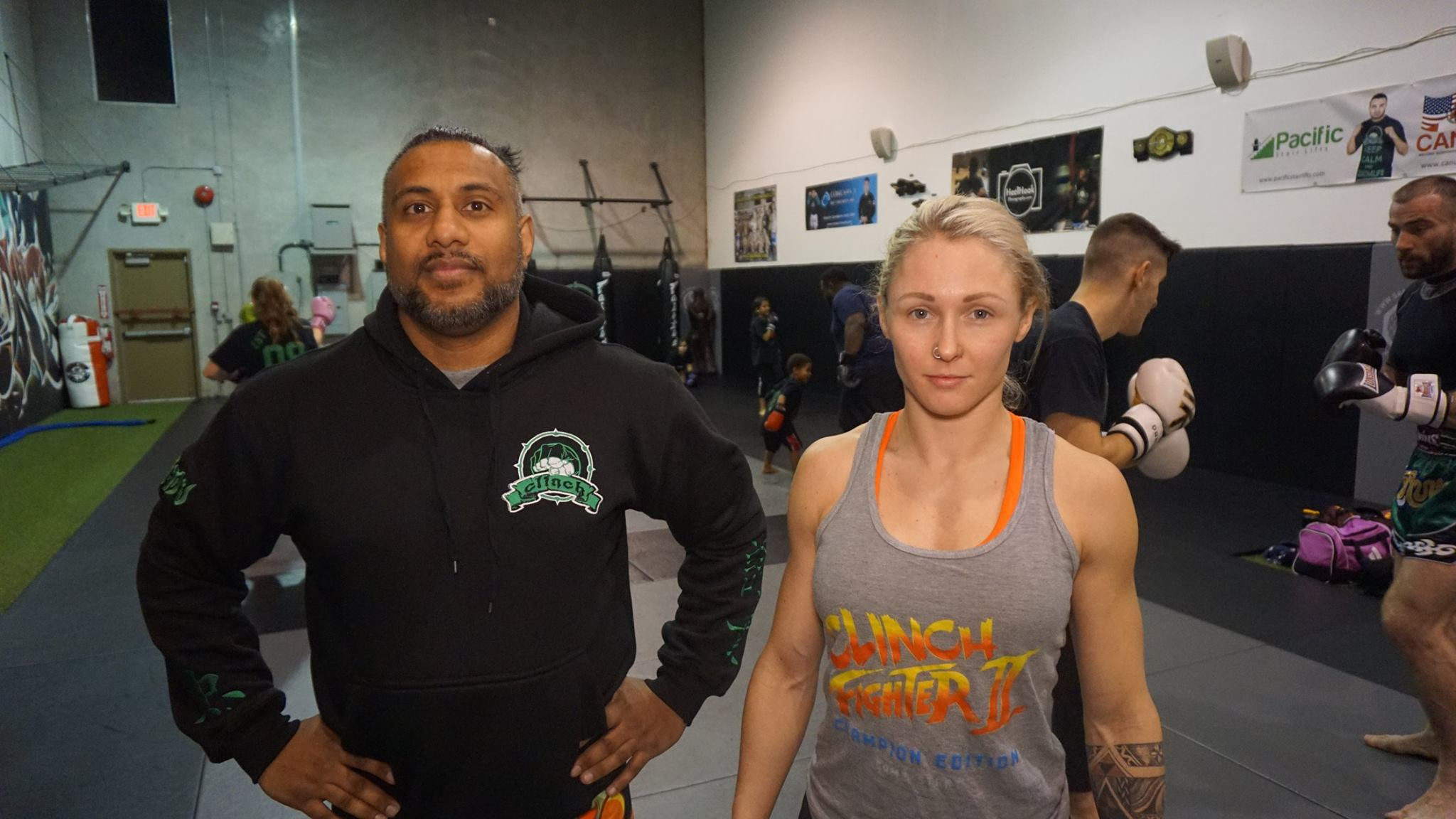 Ryan Clark Discusses MMA in Poco with Clinch Gym Coaches Cal & Shawna Snickerz
