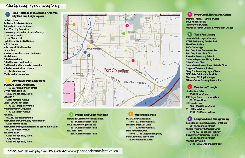 2017 Christmas Tree Map - PoCo Today