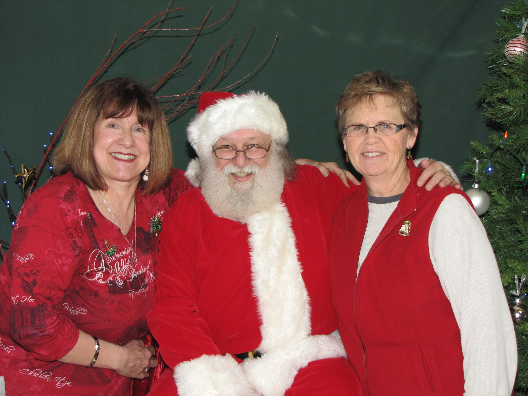 Photos With Santa on Nov. 25th