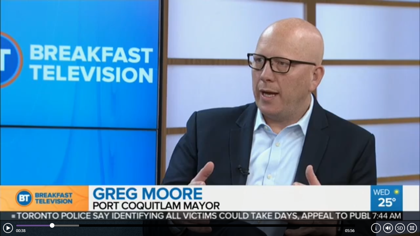 Mayor Greg Moore on CKNW & Breakfast TV