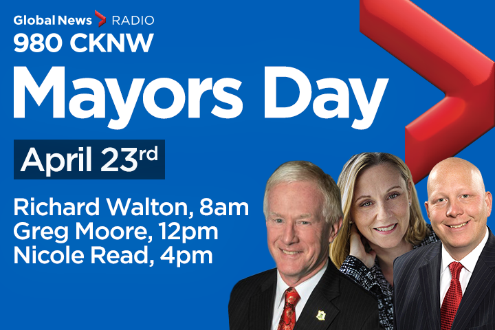 CKNW Mayor's Day With Greg Moore Apr 23