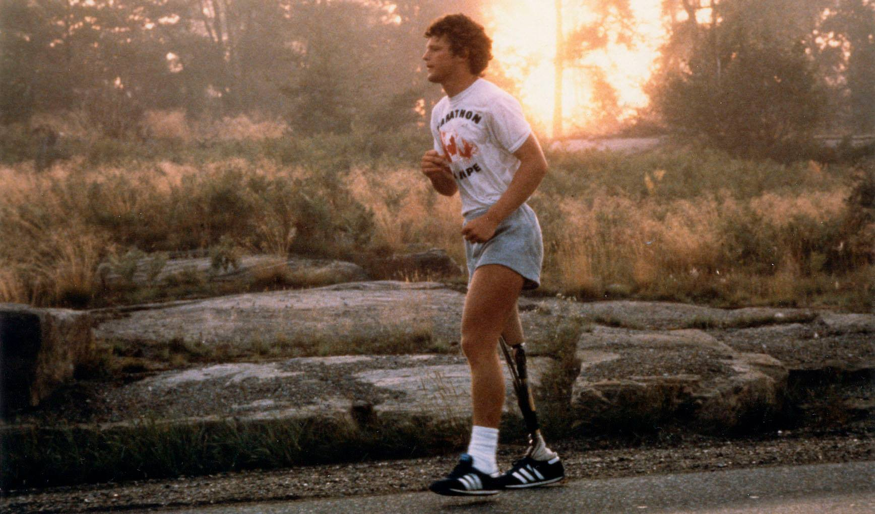 Terry Fox Starts Epic Run on April 12, 1980