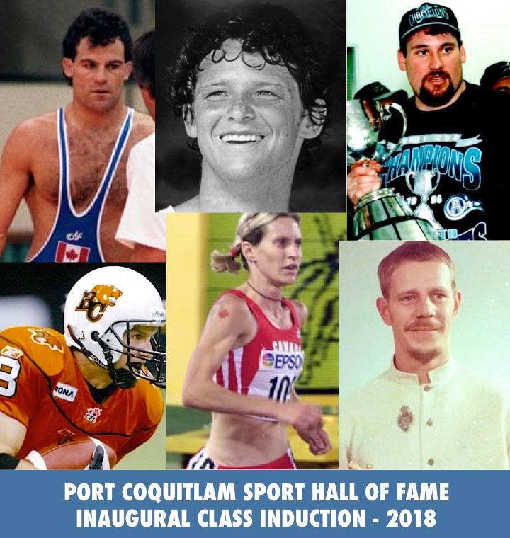 Port Coquitlam Sports Hall of Fame Inaugural Induction