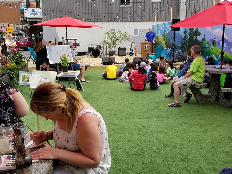 Shaughnessy Pop-Up Park Opening Party