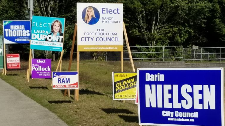 Port Coquitlam 2018 Candidate Contact Information