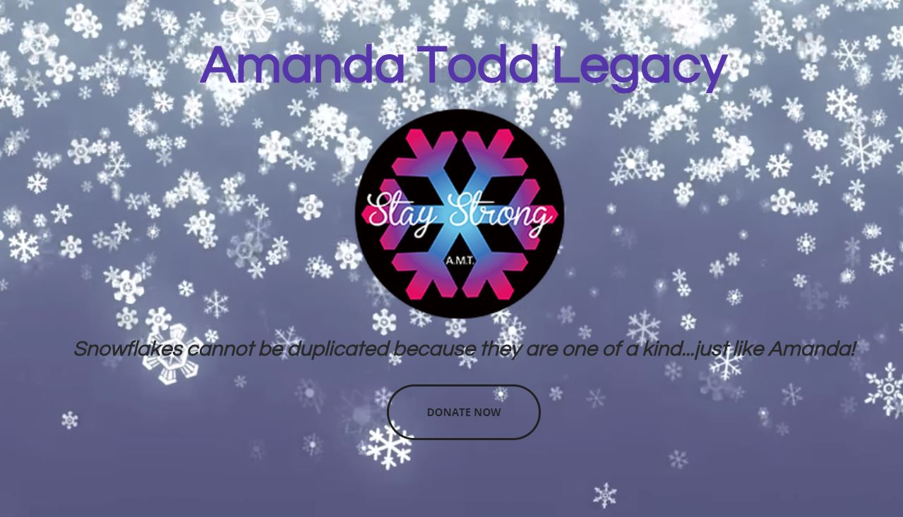 Amanda Todd Legacy Online Auction Oct 1-15
