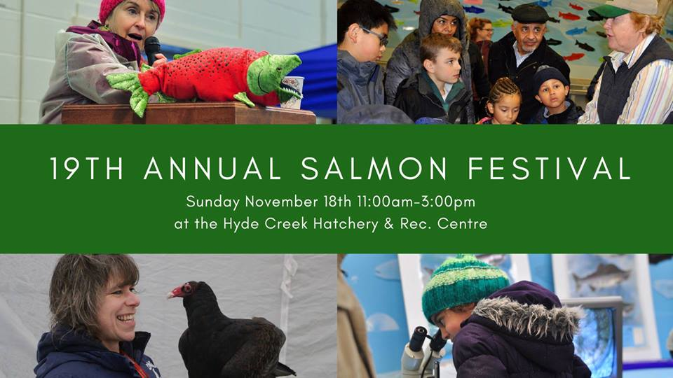 19th Annual Hyde Creek Salmon Festival Nov. 18th