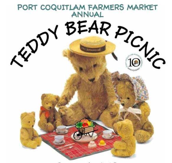 Farmers Market Teddy Bear Picnic Oct 4th @ Leigh Square