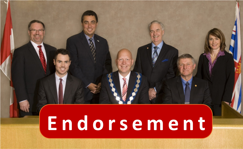 Mayor Greg Moore Endorses All Existing Councillors for Re-Election