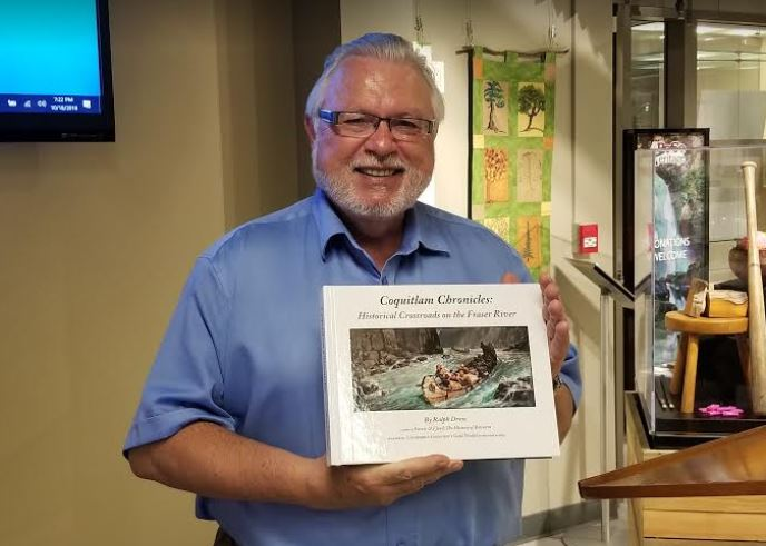 Ralph Drew talks about new book Coquitlam Chronicles at PoCo Heritage