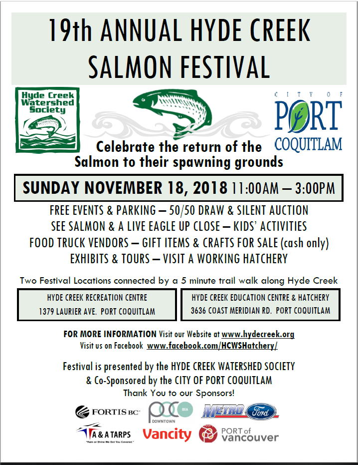 19th Annual Hyde Creek Salmon Festival Wrap Up