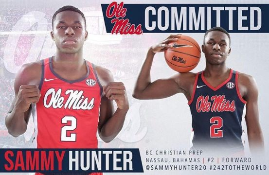 Sammy Hunter of BC Christian Academy Commits to Ole Mis