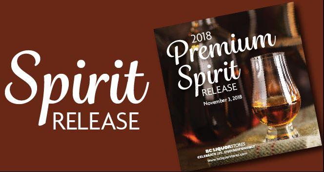 2018 Premium Spirit Release at Westwood Liquor Store Nov. 3rd