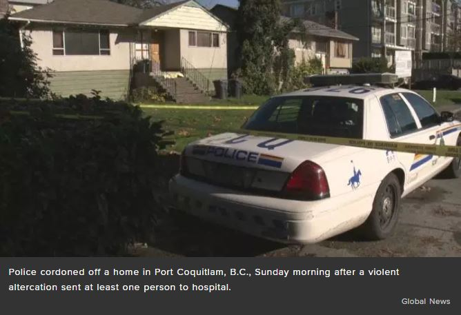 One Dead, Two in hospital after Port Coquitlam double stabbing (Updated)