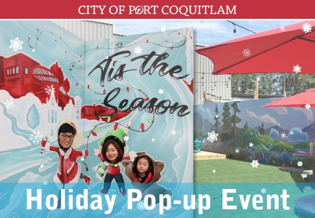 Celebrate The Holidays At Port Coquitlam Pop-Up Event Dec. 8