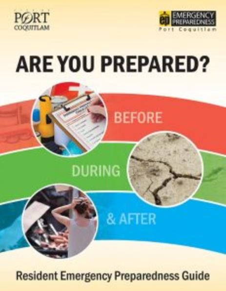 New Guide Helps Port Coquitlam Residents Prepare for Disasters