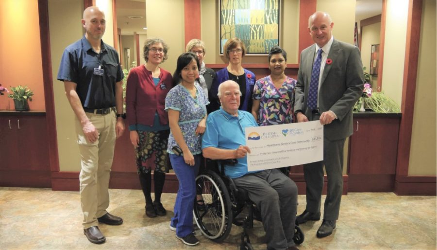 Port Coquitlam seniors' care home receives provincial funding for new equipment