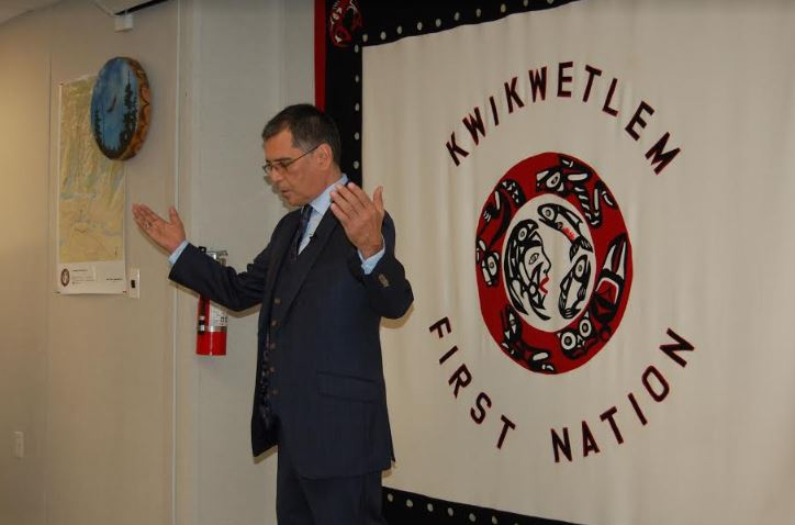 Kwikwetlem First Nation celebrates support for Overpasses Project