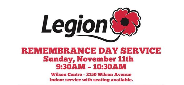 Remembrance Day in Port Coquitlam Nov. 11th