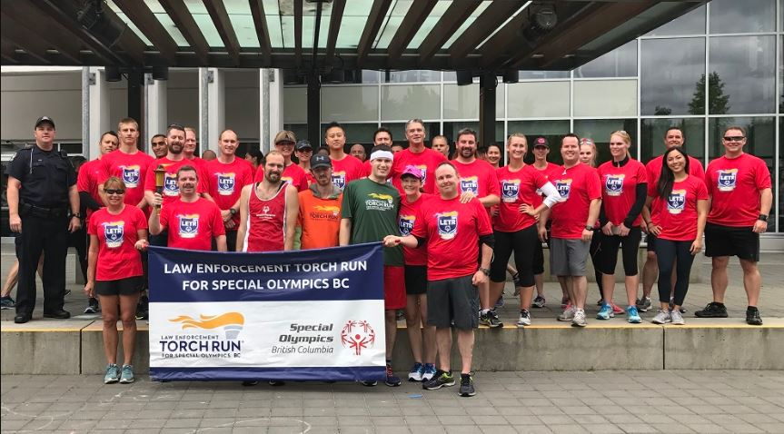 Coquitlam RCMP supports Special Olympics BC fundraiser