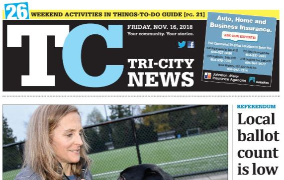 Tri-City News Goes to One Day Delivery