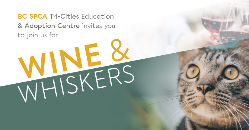 BC SPCA Wine & Whiskers Nov. 30