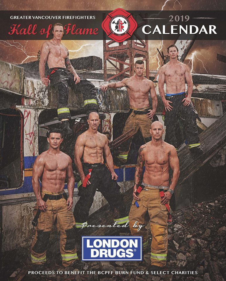 Vancouver Firefighters Calendar Features Three from PoCo
