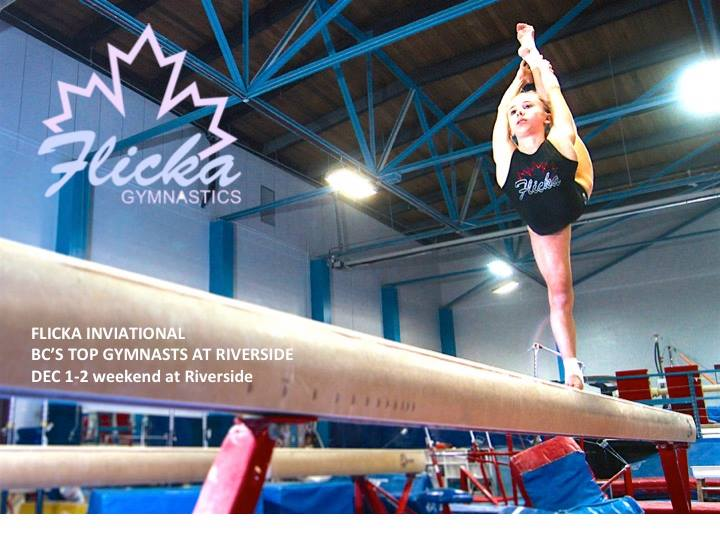 Flicka Invitational Gymnastics Event at Riverside