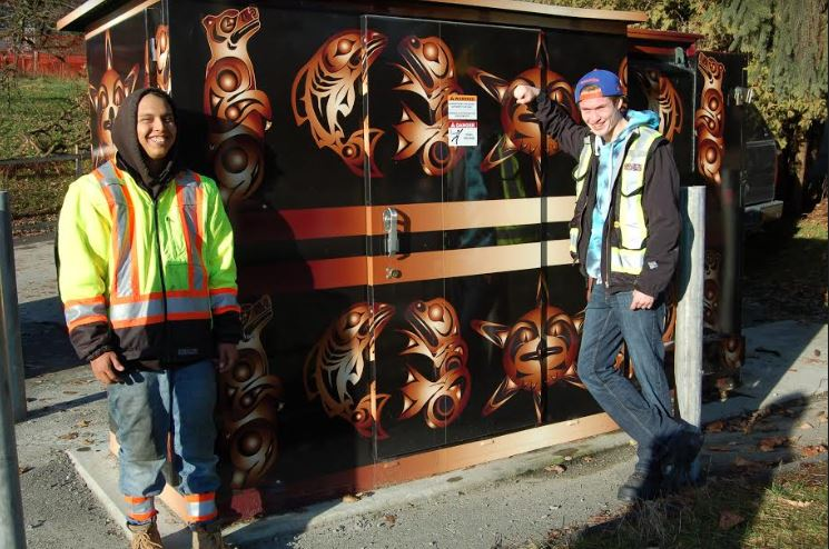 Coast Salish Art on Display at the Riverview Lands
