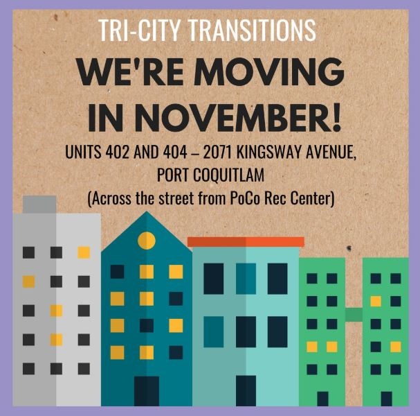 Tri-City Transitions has Moved to Kingsway
