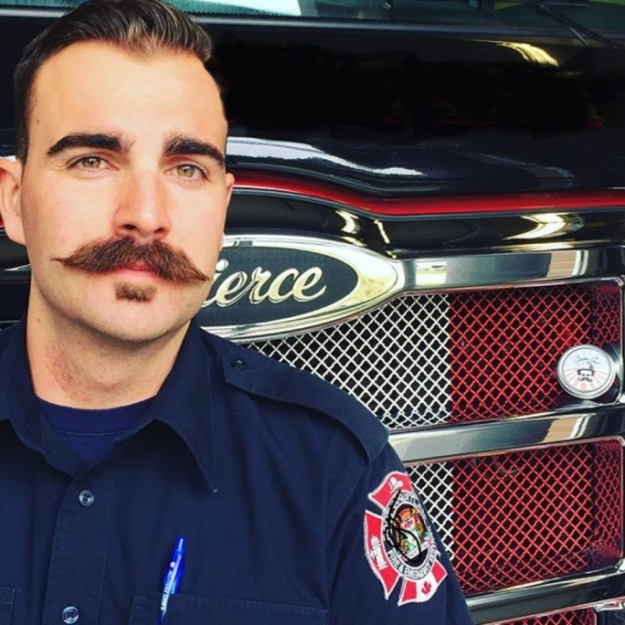 Port Coquitlam firefighter Will Brodie on Movember