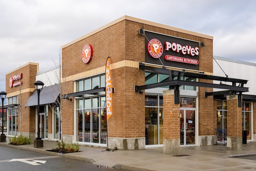 Popeyes Chicken Opens in Port Coquitlam